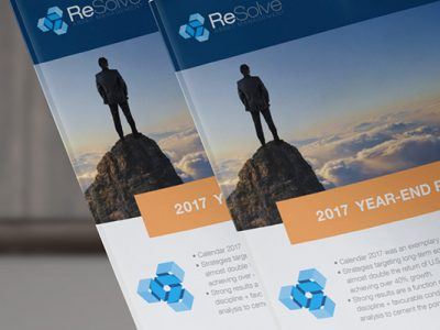 ReSolve 2017 Year-End Report